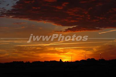 Late Autumn Sunrise in Indiana