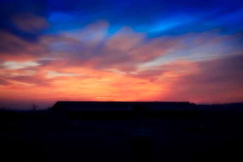 Sunrise over Hope Church