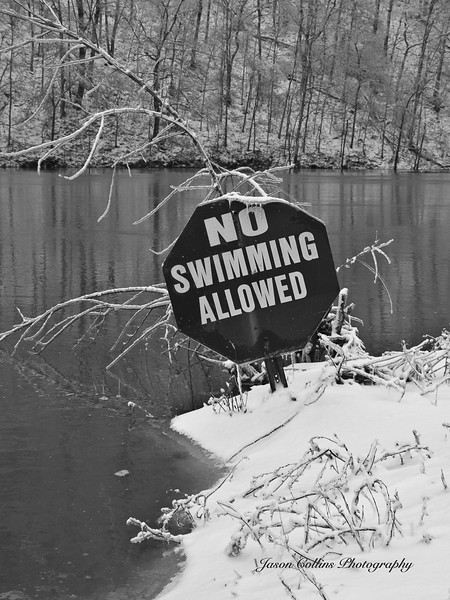 No Swimming in the Ice