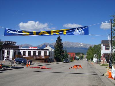 Leadville 100 starting line