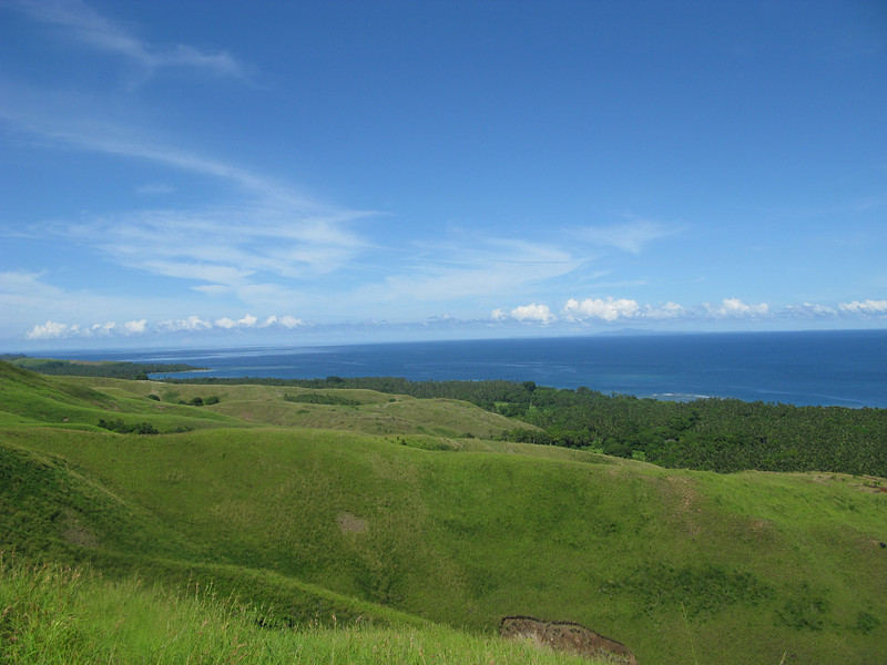 Coast of Guadalcanal looking towards Santa Isabel Island