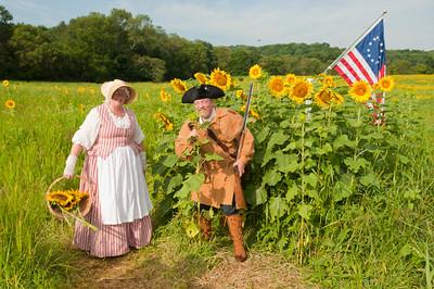 Liberty Farms Sunflower Maze