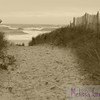 A confused sea greets you as you crest the bank at Plum Island, MA,