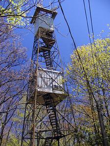 Cove Mountain Firetower NOAA Weather Station GSMNP May 8, 2007