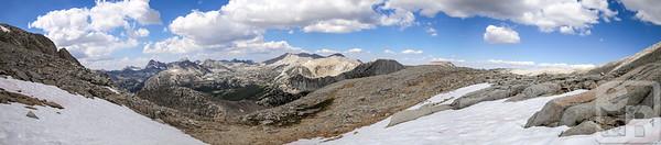 Panorama from Mono Pass