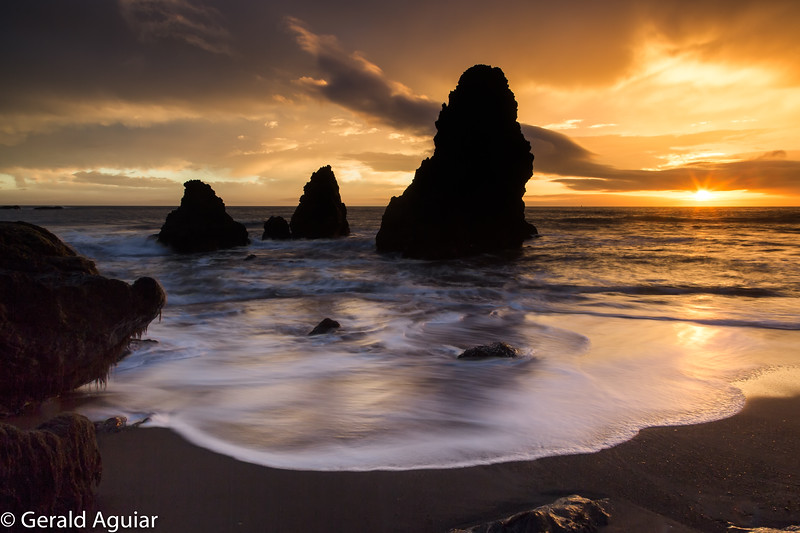 Rodeo Beach Sunset - Marin Headlands