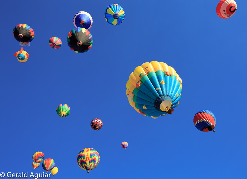 Reno Balloon Race Takeoff