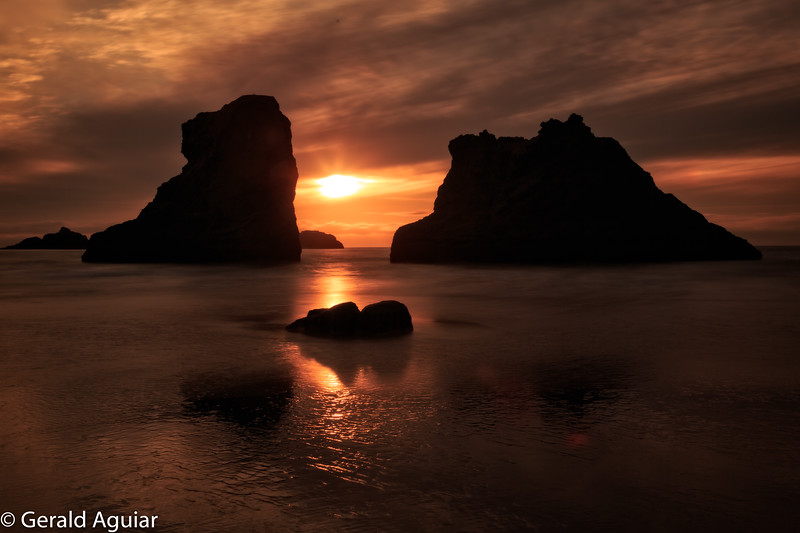 Sunset - Bandon, Oregon