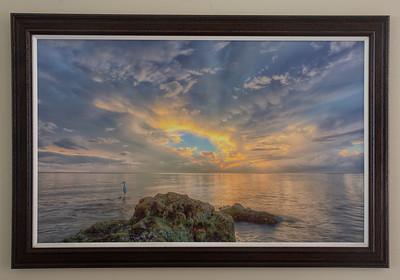 Sunset Egret II