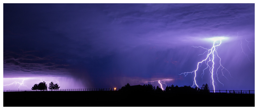 Summer Evening Storm, South of Billings