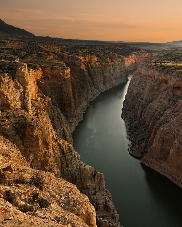Bighorn Canyon sunrise 3, MT
