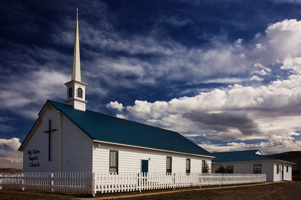 Bighorn Baptist Church, Fort Smith, MT