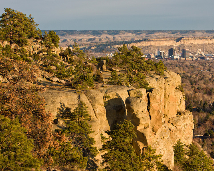 Billings From the Rims<br /> Zimmerman Park<br /> Billings, MT