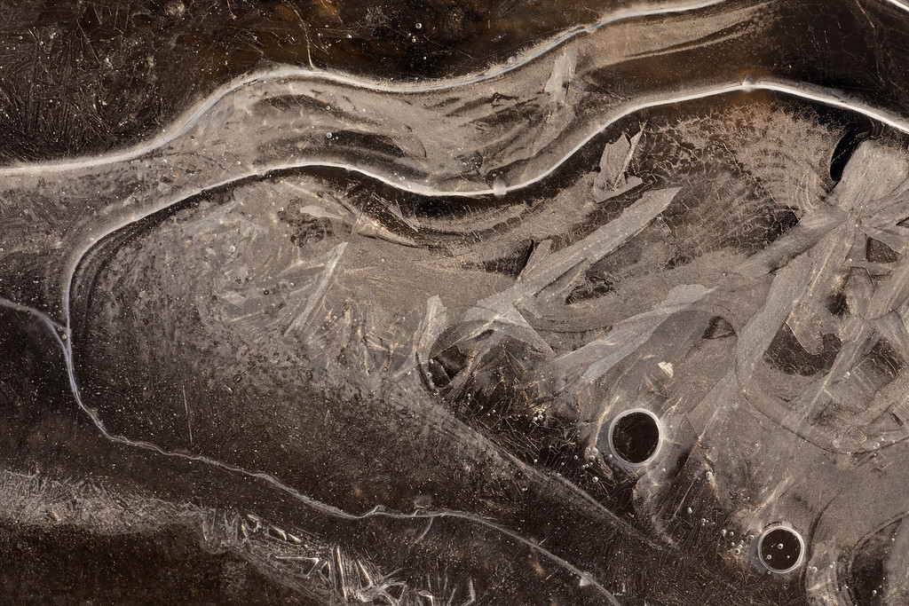 Yellowstone River Ice Textures #7