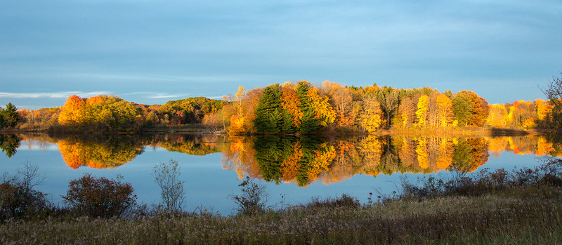 Gressard Lake sunset