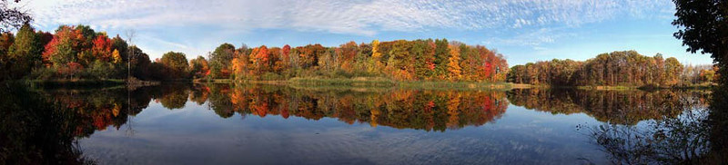 Fall at Seneca Ponds