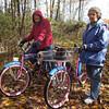 Bikers on Headwaters Trail