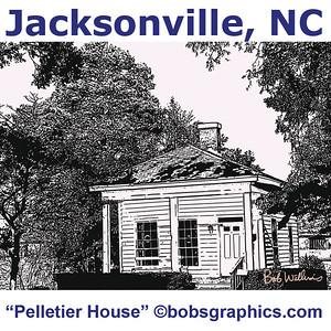"JACKSONVILLE, NC ""PELLETIER HOUSE"""