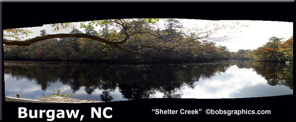 "BURGAW, NC  ""SHELTER CREEK"""