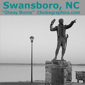 """SWANSBORO, NC  """"OTWAY BURNS"""""""