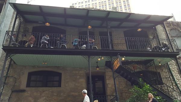 Oldest bar in San Antonio.