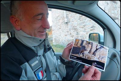Patrick Orméa, premier observateur du retour du loup en France