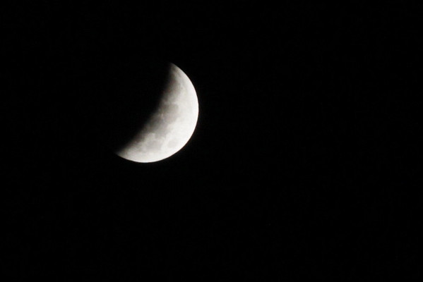 Lunar Eclipse 10/08/14