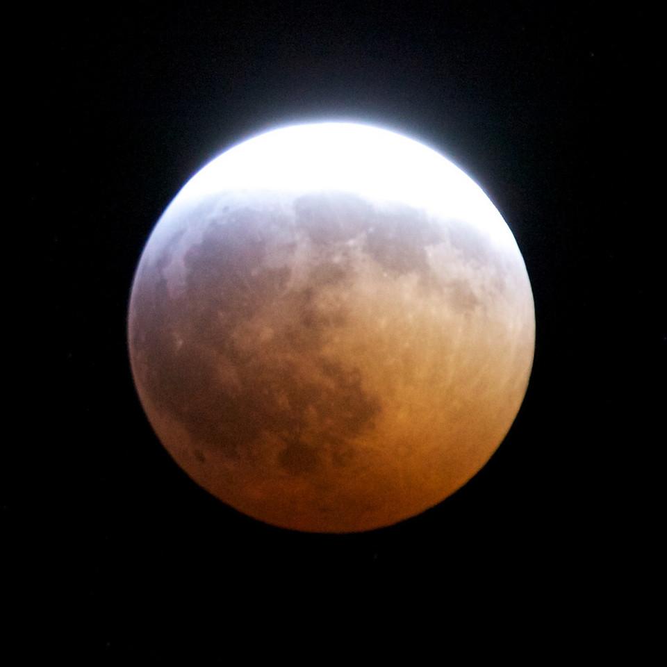 Lunar eclipse of 20 December 2010 at 23:28.