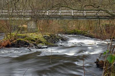 Bro över Lyckebyån