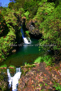 WATERFALLS ALONG HANA HIGHWAY
