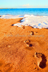FOOTPRINTS IN THE SAND KA'ANAPALI