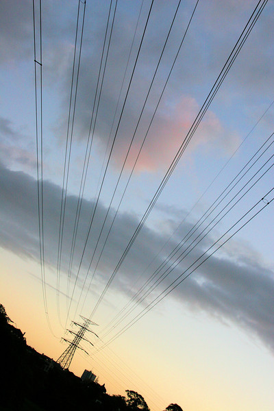 More power lines.