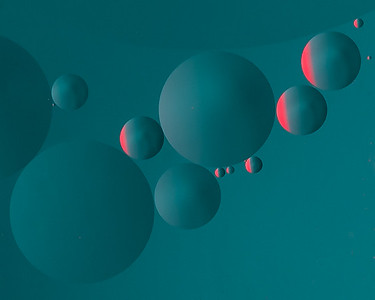 Twisting Blue Planets