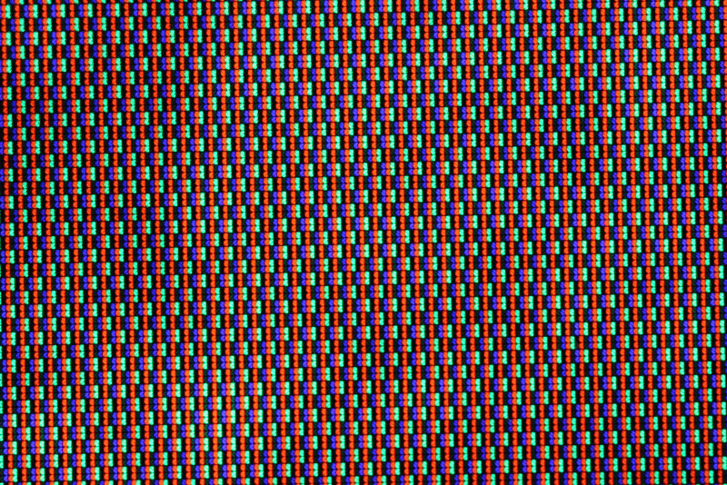macro from  a TV-LCD-screen