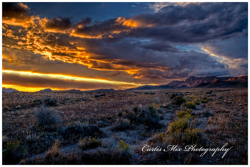 Sunset at the Great Basin.