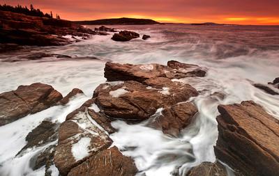 Dawn in Acadia