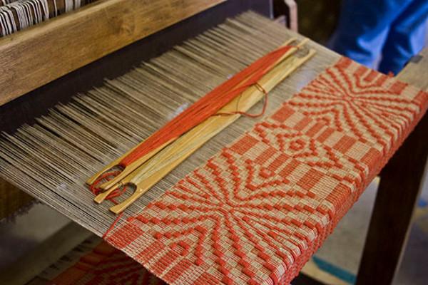 Detail, Antique Loom