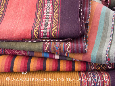 Hand Spun Cloth from Cusco, Peru