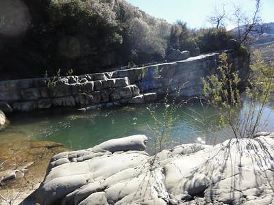 A swim hole near the Blue Heron ranch.