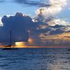 06-06 Sunset on Kahana Beach @ Maui, Hawaii