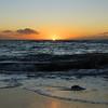 05-19 Sunset on Kahana Beach @ Maui, Hawaii