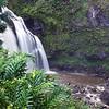 03-30 Upper Waikani Falls (Three-Bears Falls) on Hana Highway @ Maui, Hawaii