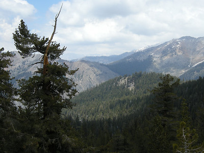 Looking north, Timber Gap visible.
