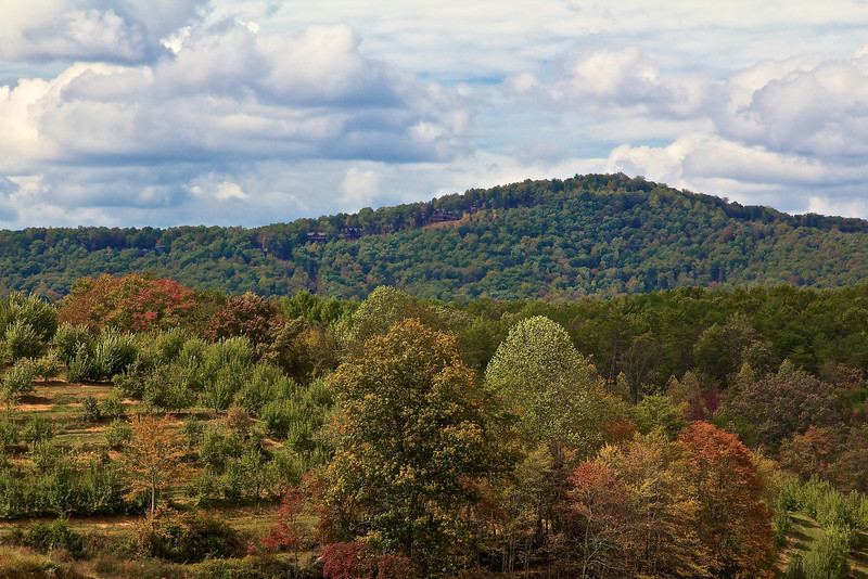 Scenes from around Mercier Orchards in Blue Ridge, GA.