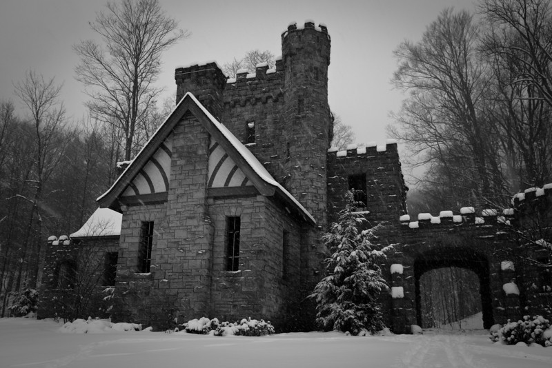 Squire's Castle in Winter