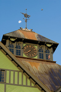 Moon over the Clock Tower