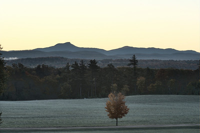 Sunrise over Camel's Hump