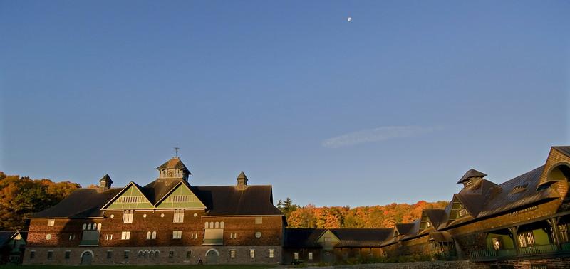 Moon over the Farm Barn
