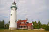 Historic Seul Choix Lighthouse, near Manistique Michigan on Lake Michigan
