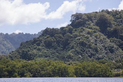 Entrance area to Yela Conservation Area, Kosrae, FSM